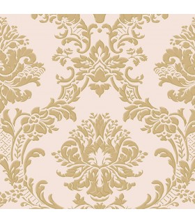 IM36406 - Silk Impressions 2 by Norwall Damask Wallpaper