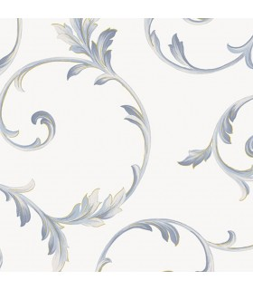 IM36415 - Silk Impressions 2 by Norwall Scroll Leaves Wallpaper