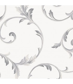 IM36416 - Silk Impressions 2 by Norwall Scroll Leaves Wallpaper