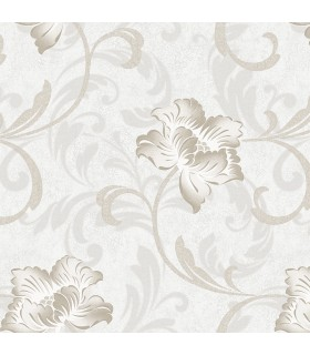 JC20011 - Concerto Wallpaper by Patton/Design ID-Floral Scroll