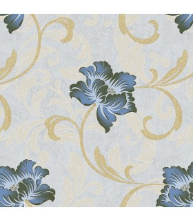 JC20013 - Concerto Wallpaper by Patton/Design ID-Floral Scroll