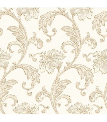 JC20061 - Concerto Wallpaper by Patton/Design ID-Scroll Floral