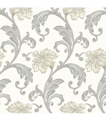 JC20062 - Concerto Wallpaper by Patton/Design ID-Scroll Floral