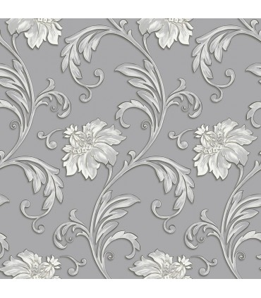 JC20064 - Concerto Wallpaper by Patton/Design ID-Scroll Floral