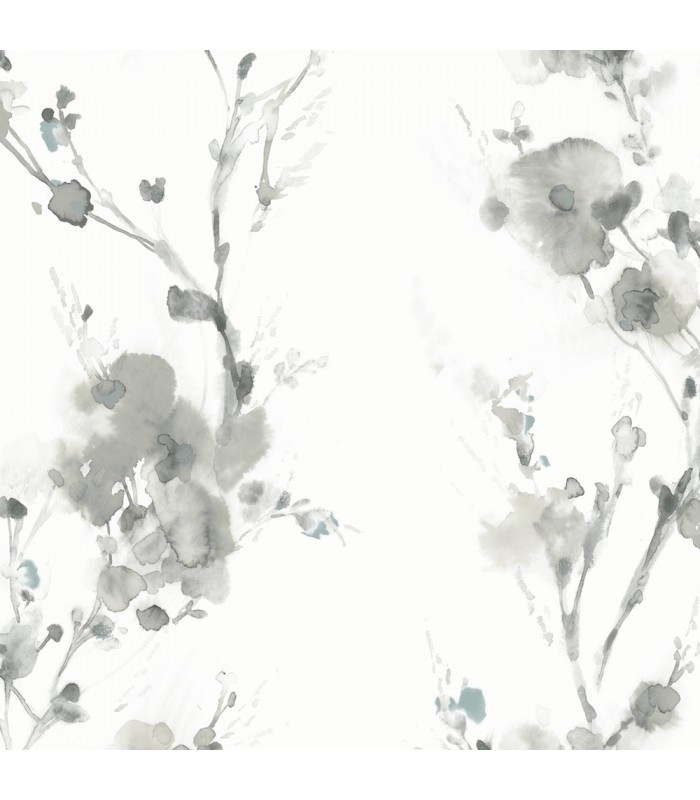 Cp1201 Candice Olson Breathless Wallpaper Watercolor Floral Wallpaper The Home