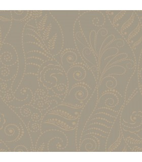 CP1267 - Candice Olson Breathless Wallpaper-Modern Fern