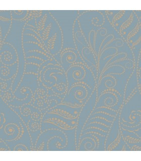 CP1271 - Candice Olson Breathless Wallpaper-Modern Fern