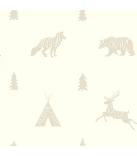 LK8204 - Young at Heart Wallpaper-Run Wild