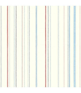 LK8250 - Young at Heart Wallpaper-Steno Stripe