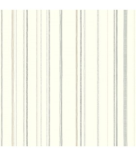 LK8251 - Young at Heart Wallpaper-Steno Stripe