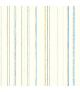 LK8252 - Young at Heart Wallpaper-Steno Stripe