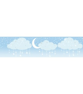 LK8255BD - Young at Heart Wallpaper Border-Night Sky