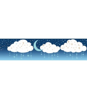 LK8256BD - Young at Heart Wallpaper Border-Night Sky