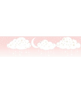LK8258BD - Young at Heart Wallpaper Border-Night Sky
