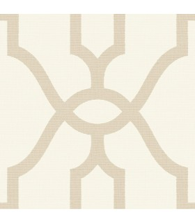 ME1554 - Magnolia Home Wallpaper Vol 2-Woven Trellis