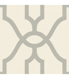 ME1555 - Magnolia Home Wallpaper Vol 2-Woven Trellis