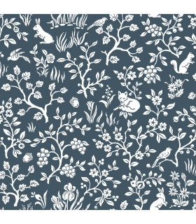 ME1572 - Magnolia Home Wallpaper Vol 2 - Fox and Hare