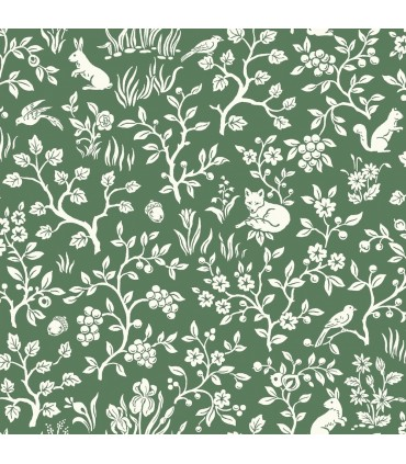 ME1573 - Magnolia Home Wallpaper Vol 2 - Fox and Hare