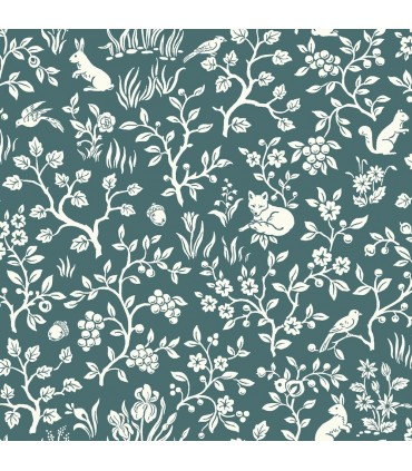 ME1574 - Magnolia Home Wallpaper Vol 2 - Fox and Hare