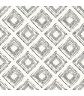 ME1579 - Magnolia Home Wallpaper Vol 2 - Diamond Sketch