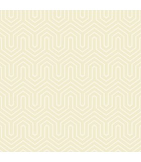 GE3712 - Ashford Geometrics Flocked Wallpaper-Labyrinth