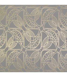 NW3525 - Modern Metals Wallpaper by Antonina Vella-Cartouche