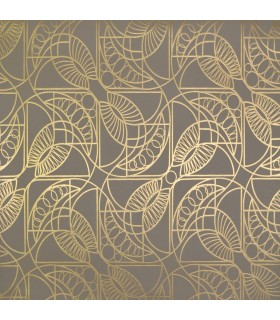 NW3526 - Modern Metals Wallpaper by Antonina Vella-Cartouche