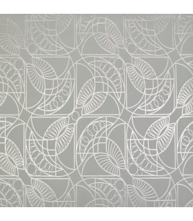 NW3527 - Modern Metals Wallpaper by Antonina Vella-Cartouche