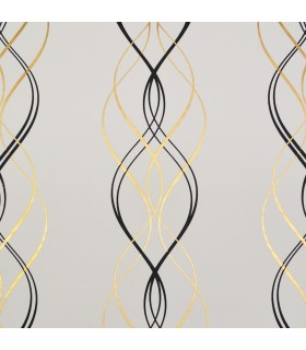 NW3548 - Modern Metals Wallpaper by Antonina Vella-Aurora