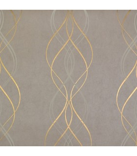NW3552 - Modern Metals Wallpaper by Antonina Vella-Aurora