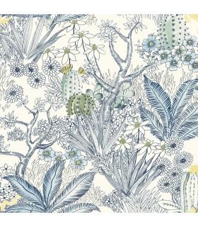 ON1612 - Outdoors In Wallpaper by York - Flowering Desert
