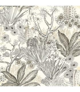 ON1614 - Outdoors In Wallpaper by York - Flowering Desert