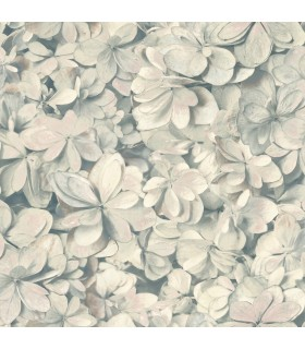 ON1620 - Outdoors In Wallpaper by York - Hydrangea Bloom