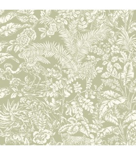 ON1622 - Outdoors In Wallpaper by York - Botanical Sanctuary