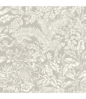 ON1624 - Outdoors In Wallpaper by York - Botanical Sanctuary