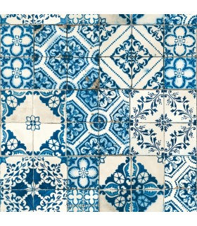 ON1631 - Outdoors In Wallpaper by York - Mediterranean Tile