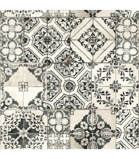 ON1632 - Outdoors In Wallpaper by York - Mediterranean Tile