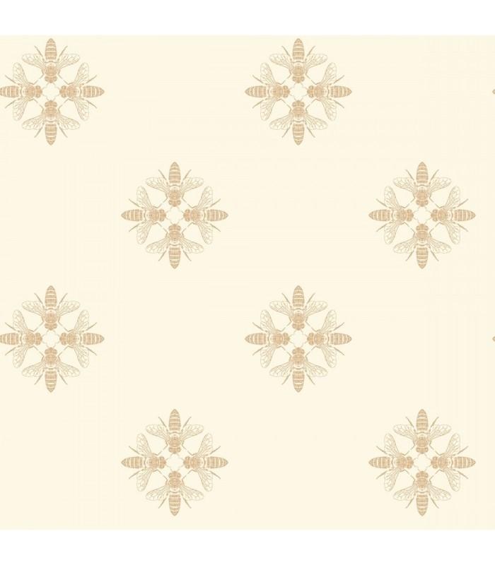 ON1641 - Outdoors In Wallpaper by York - Honey Bee