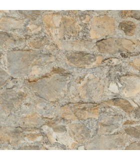 PA130904LW - Outdoors In Wallpaper by York - Field Stone