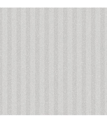 WF36329 - Wall Finishes Wallpaper by Norwall - Herringbone Stripe