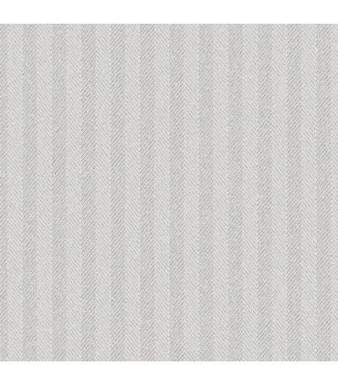 WF36329 - Wall Finishes Wallpaper by Norwall - Herringbone Stripe