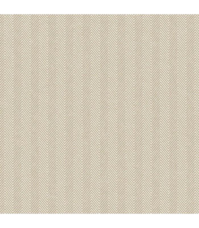 WF36331 - Wall Finishes Wallpaper by Norwall - Herringbone Stripe