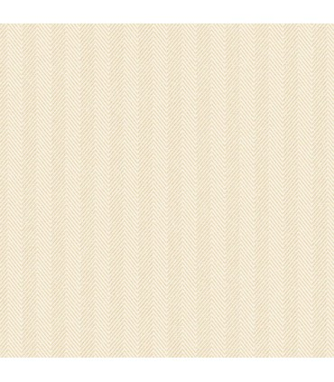 WF36332 - Wall Finishes Wallpaper by Norwall - Herringbone Stripe