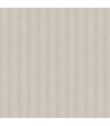 WF36334 - Wall Finishes Wallpaper by Norwall - Herringbone Stripe