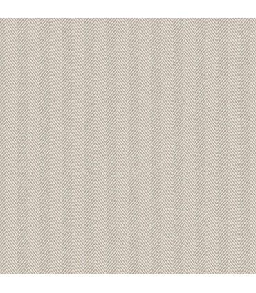 WF36334 - Wall Finishes Wallpaper by Norwall - Herringbone Stripe