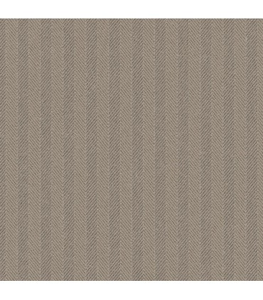 WF36335 - Wall Finishes Wallpaper by Norwall - Herringbone Stripe
