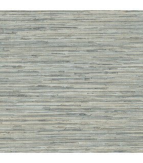 NT33703 - Wall Finishes Wallpaper by Norwall - Faux Embossed Grasscloth