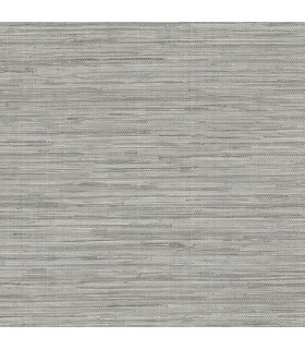 NT33705 - Wall Finishes Wallpaper by Norwall - Faux Embossed Grasscloth