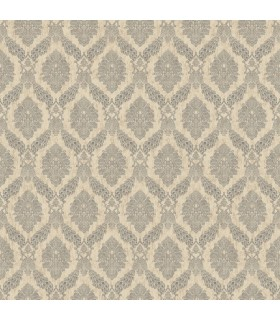 HO3304 - Tailored Wallpaper by York - Peacock Damask