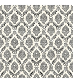 HO3305 - Tailored Wallpaper by York - Peacock Damask
